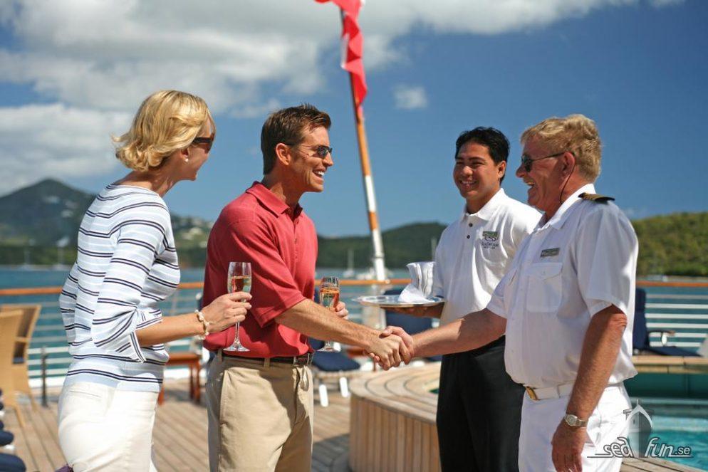 SeaDream Yacht Club – prisbelönta för sin service
