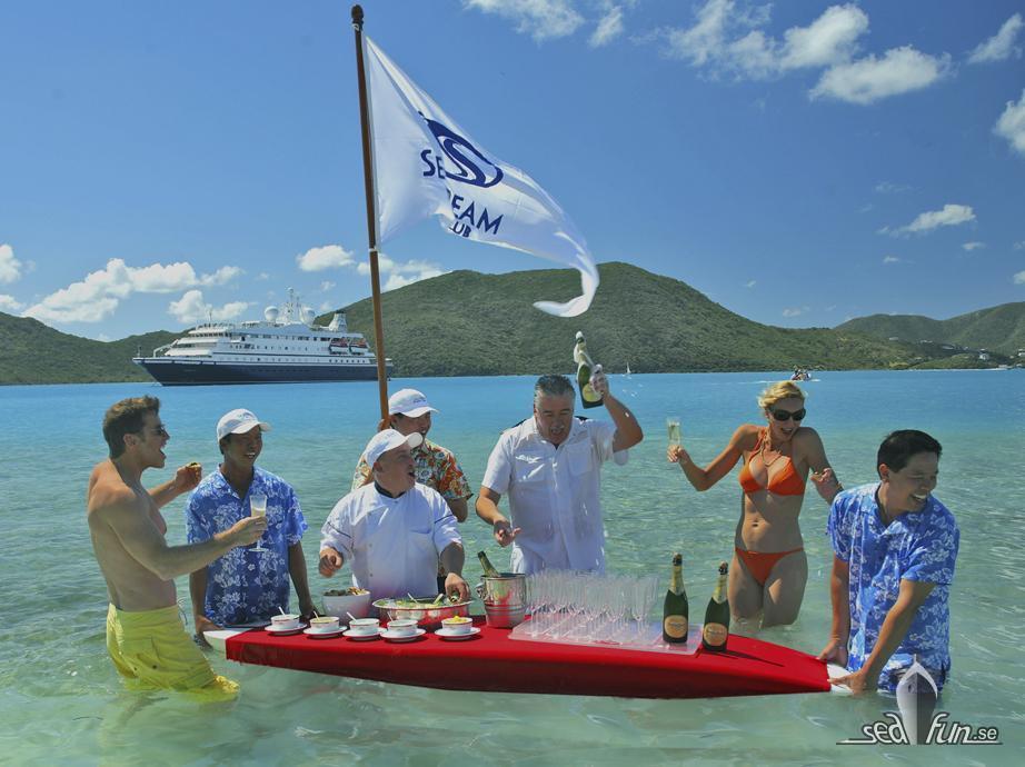 SeaDream Yacht Club – utöver det vanliga