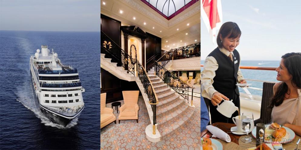 Azamara Club Cruises firar tre år