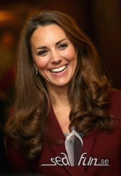 Kate blir gudmor till nya Princess-fartyget