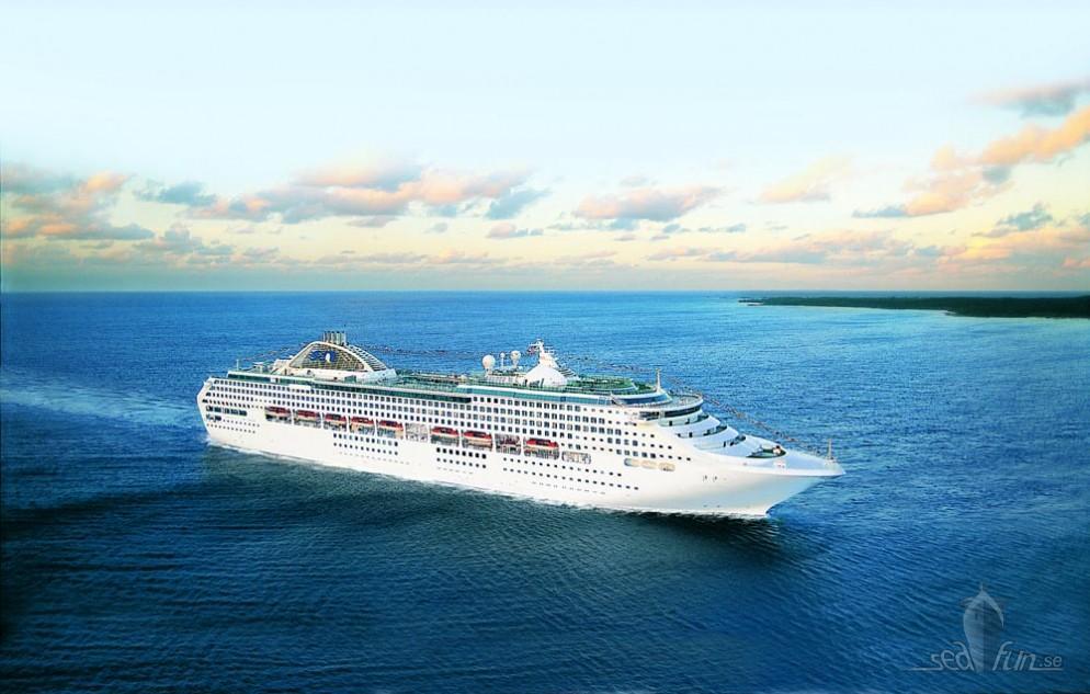 Upptäck Japans övärld med uppfräschat Princess-fartyg