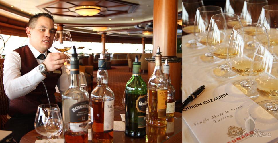 Queen Elizabeths whiskyprovning