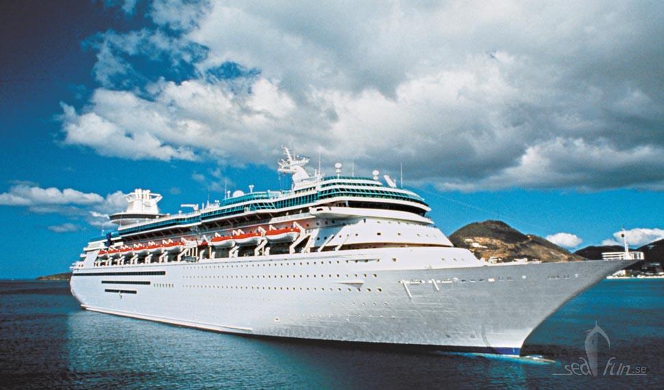 Sista Sovereign-fartyget lämnar Royal Caribbean