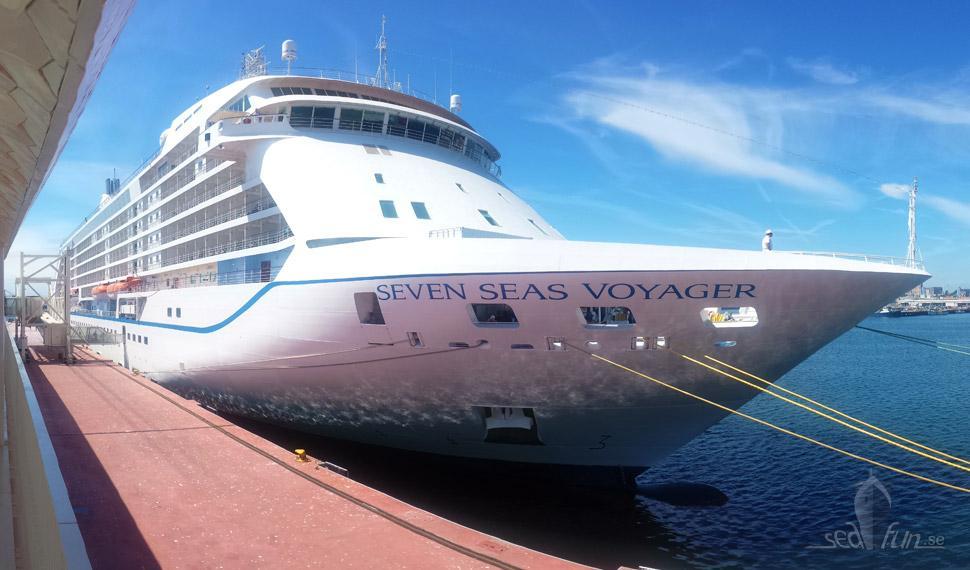 Nu bär det av med Seven Seas Voyager