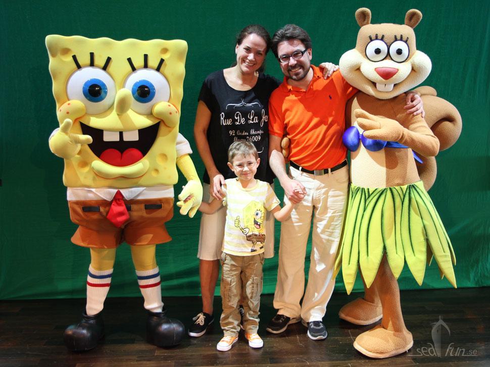 Nickelodeon och familjeaktiviteter hos NCL