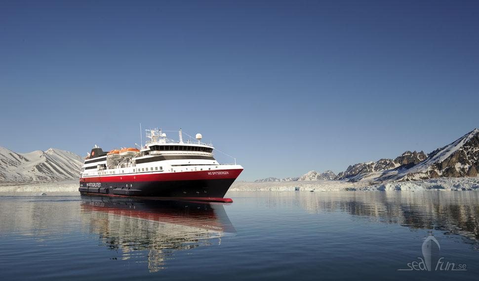 Hurtigruten välkomnar MS Spitsbergen