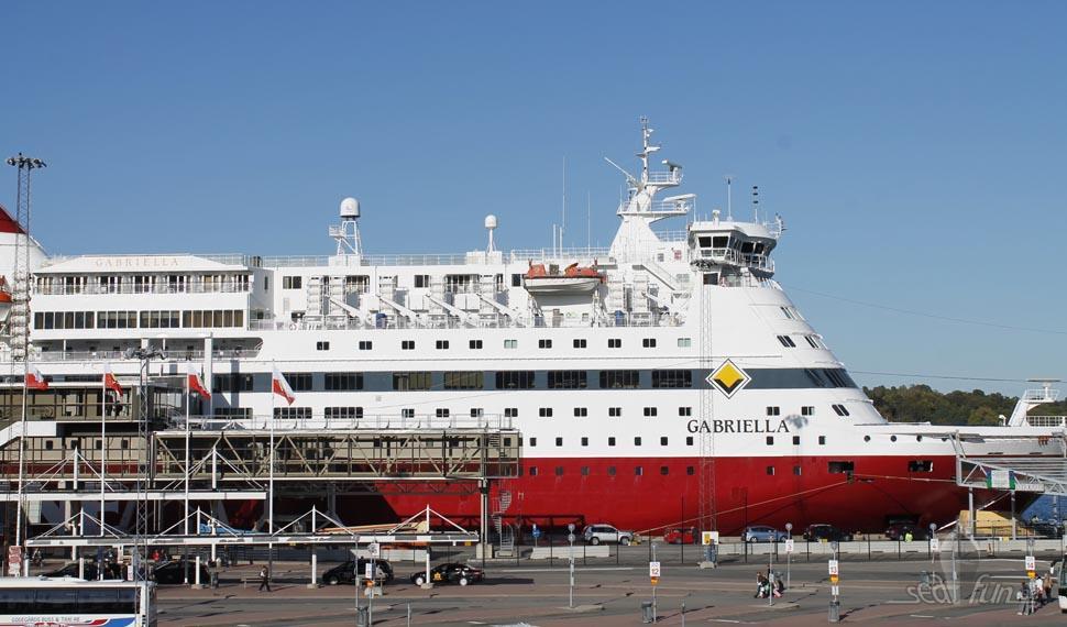 Dagens program: besök ombord på Gabriella