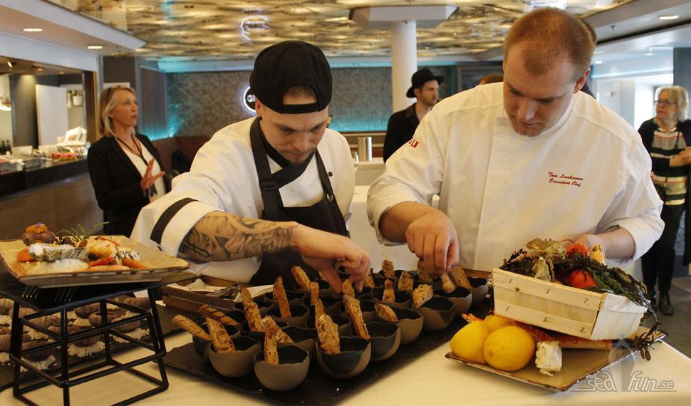 """Viking Line matsatsar på """"nya"""" Gabriella"""