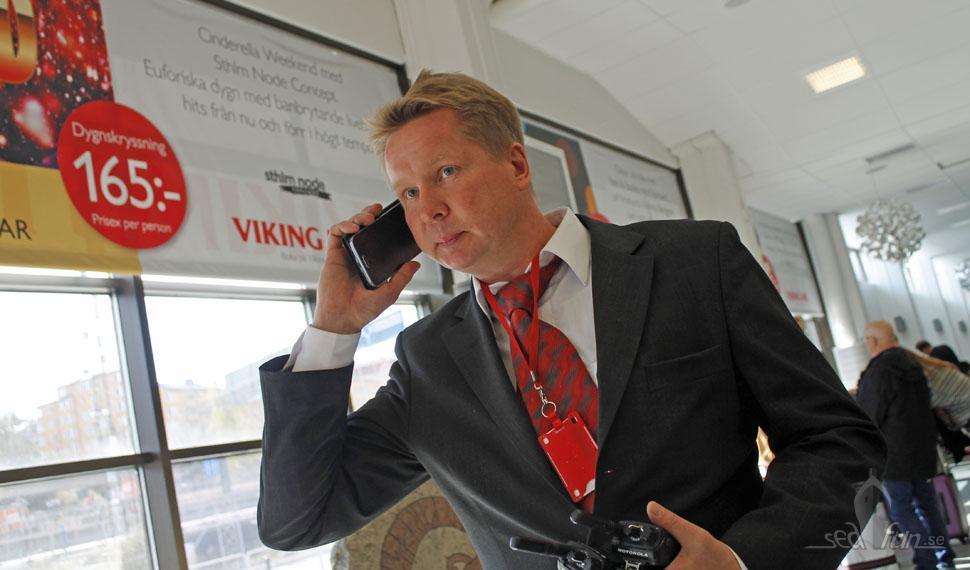 Toppenservice från Viking Line när vi var i nöd