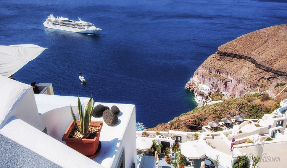 Kryssningsboom i Medelhavet enligt Ticket