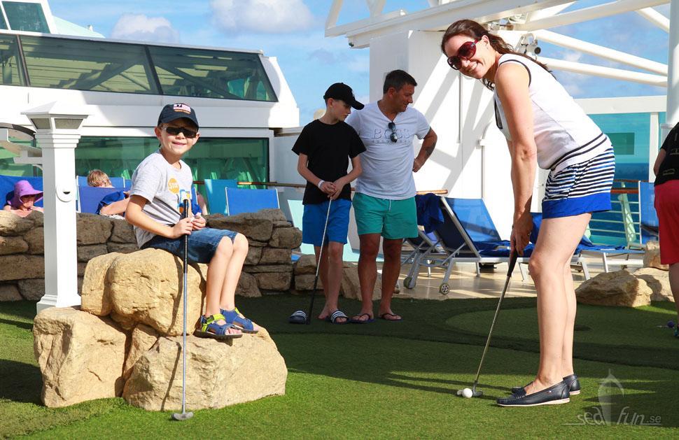 Aktiviteter, sport och underhållning på TUI Discovery