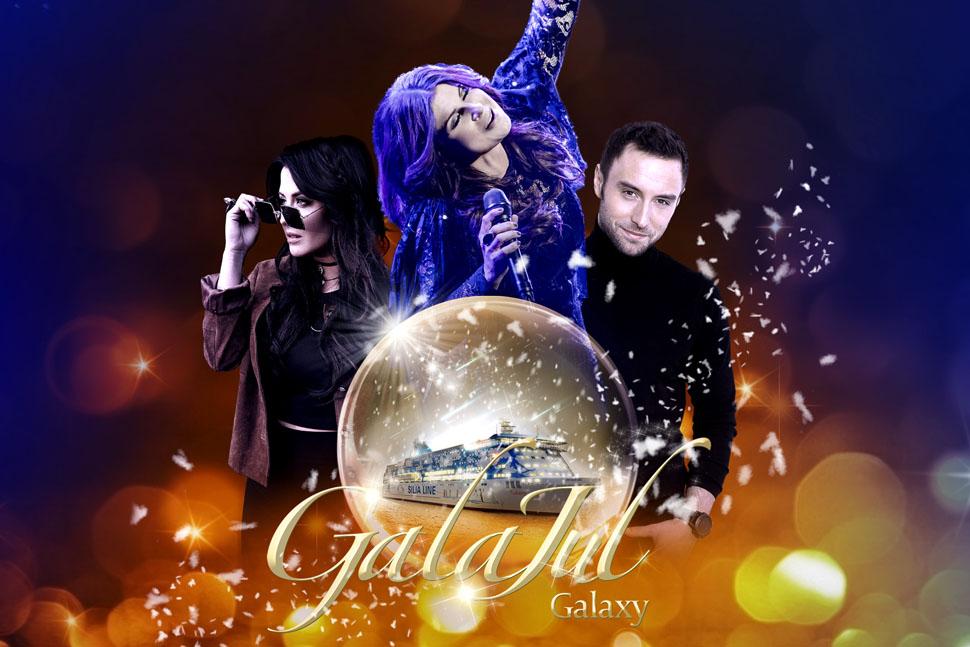 GalaJul på Silja Galaxy