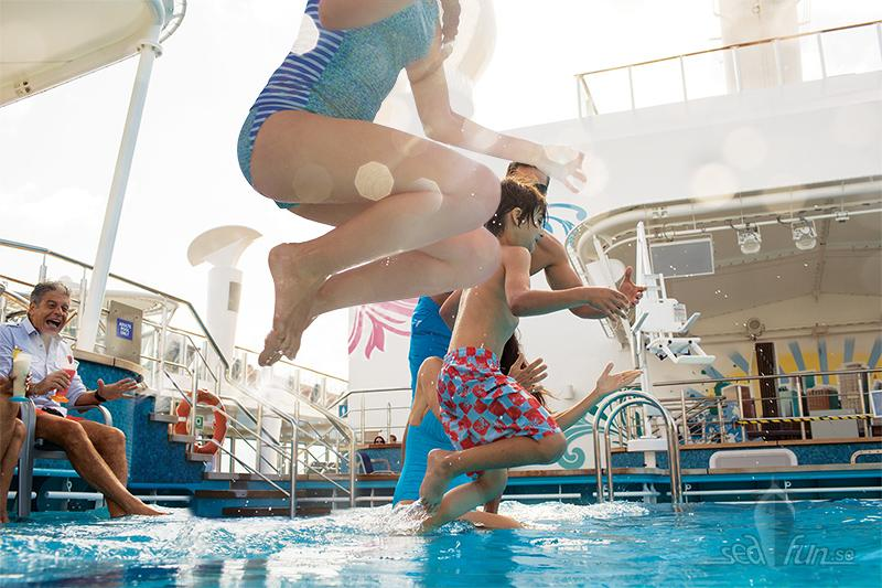 Norwegian Cruise Line ökar poolsäkerheten