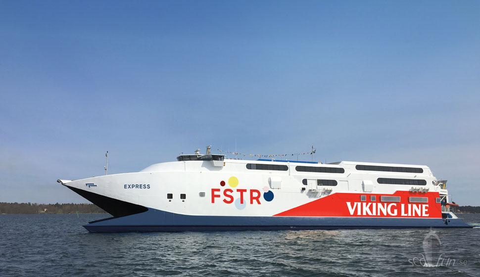 Viking Line satsar på HEL-TAL med nytt fartyg