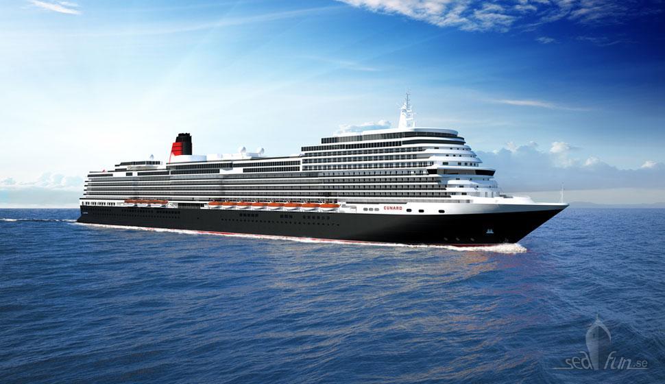 Fjärde drottningen för Cunard, Italien får ordern