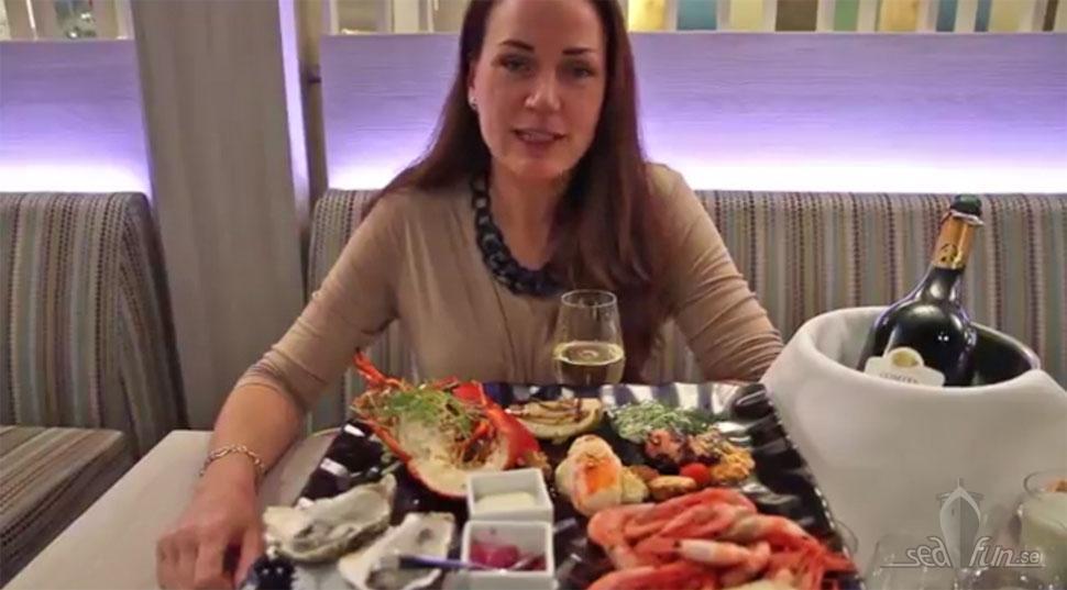 Ny film om maten på Viking Gabriella