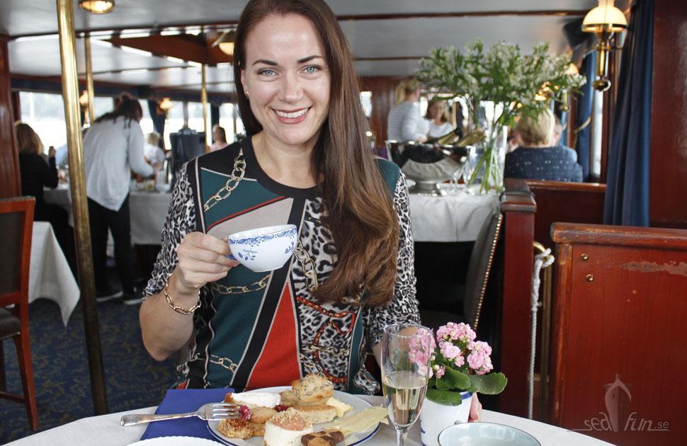 Afternoon tea-kryssning – en mysig höstaktivitet!