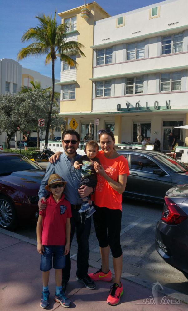 Avalon Hotel på Miami beach