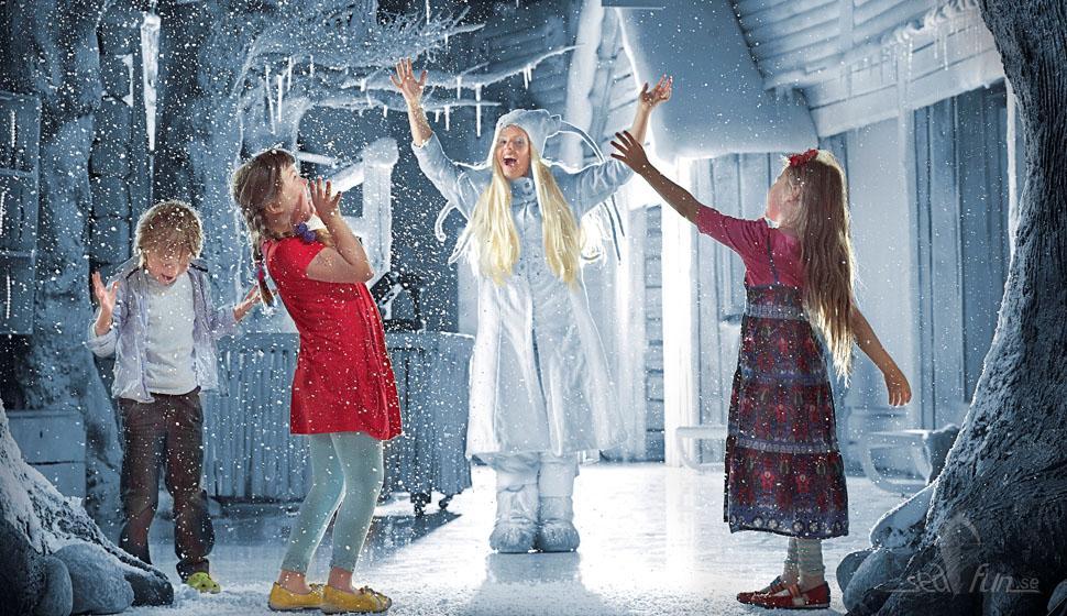Seafun liftar med Birka till jultomten!