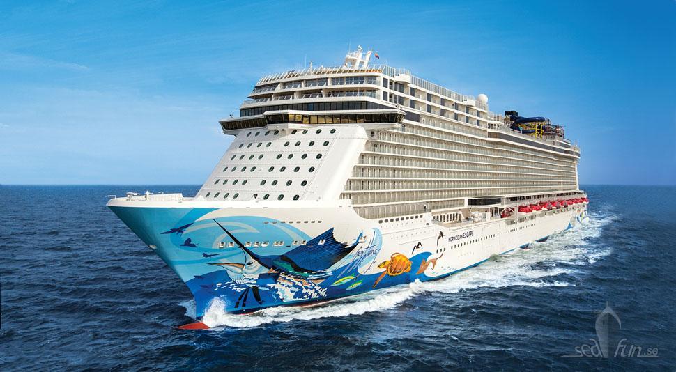 Det marina livet i fokus på Norwegian Escape