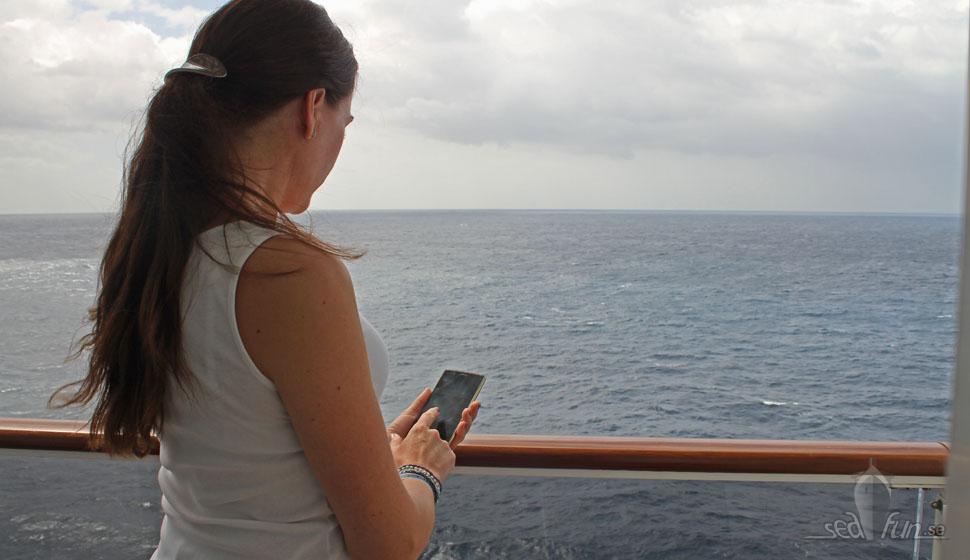 Incheckning och slutbetalning hos MSC Cruises