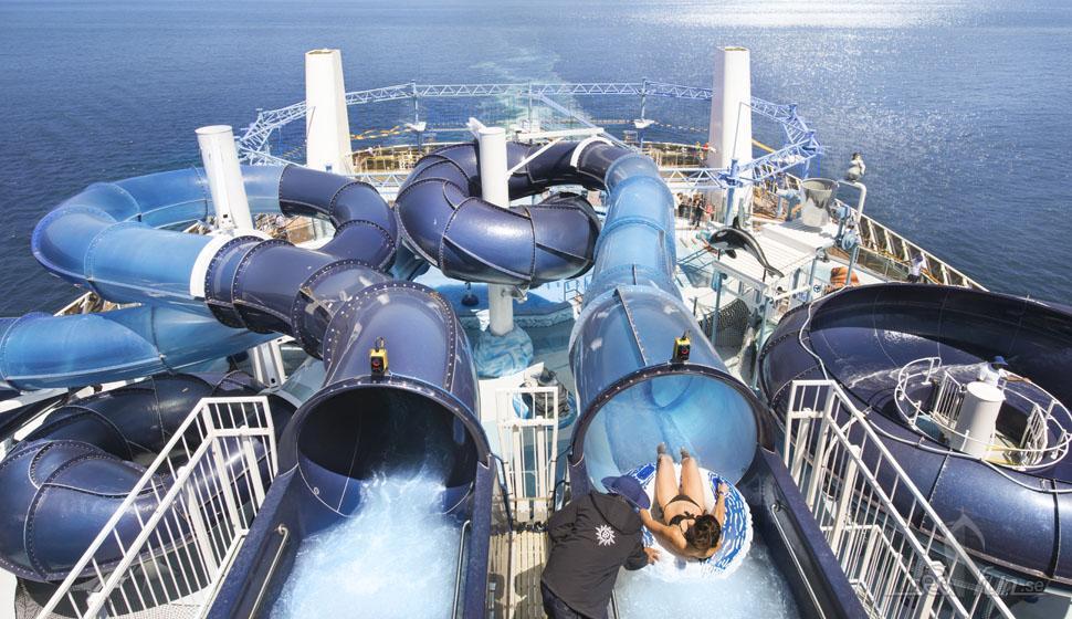 Bästa vattenparkerna hos MSC Cruises