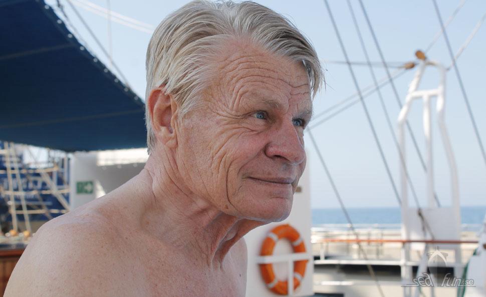 Mikael Kraffts bästa tips mot sjösjuka