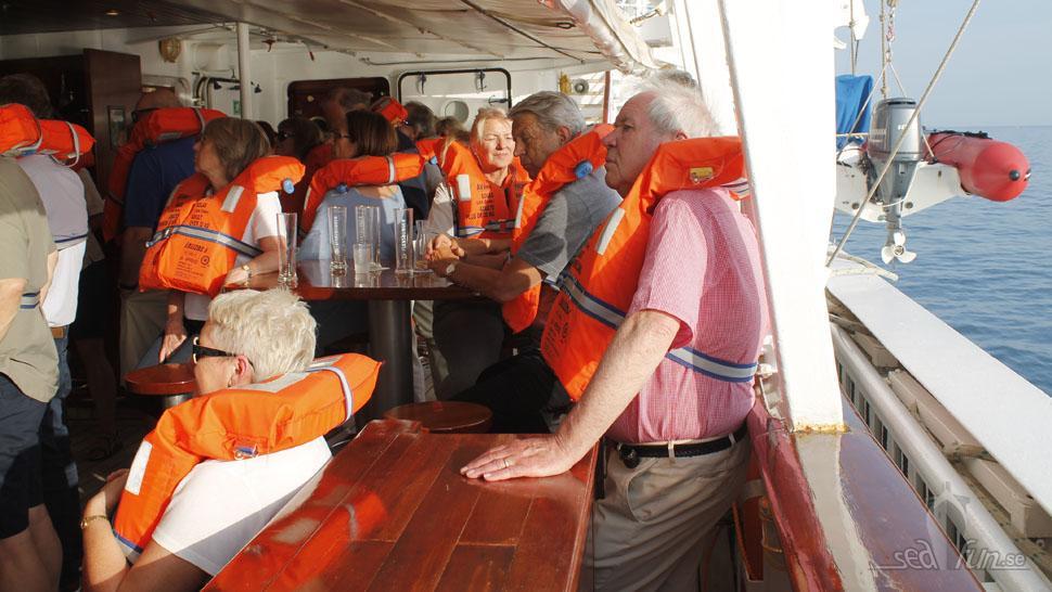 Skärpt säkerhetsövning efter Costa Concordia