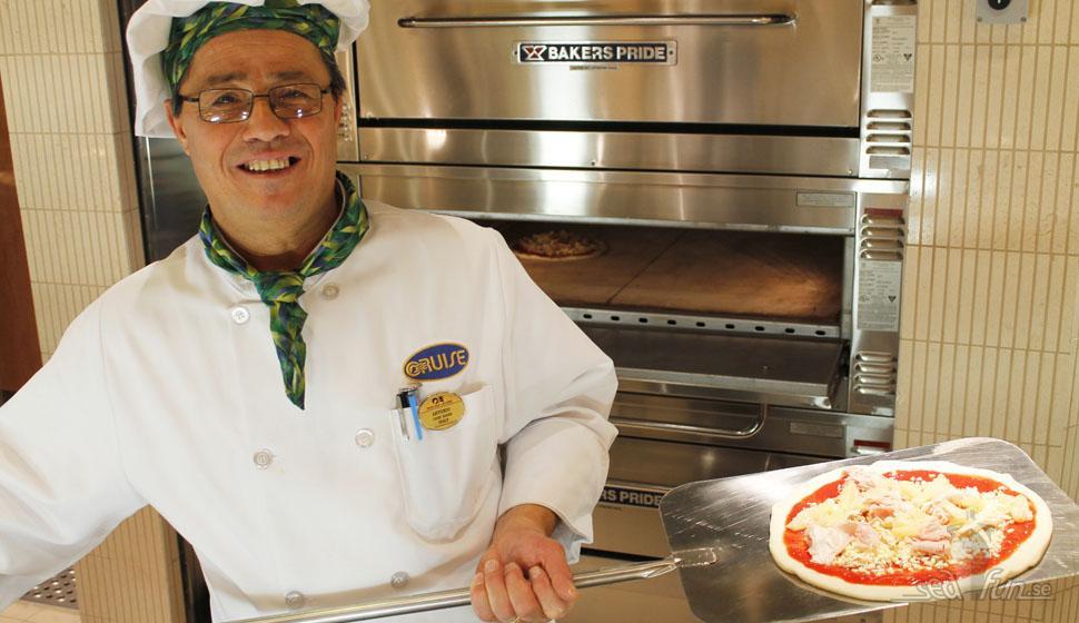 5 bästa pizzorna till havs