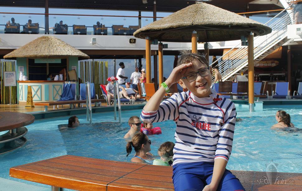 Barnvänligt ombord på Carnival Breeze