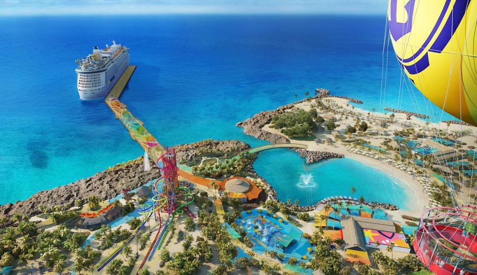 Royal Caribbean lockar barnfamiljer med lekfull ö i Bahamas