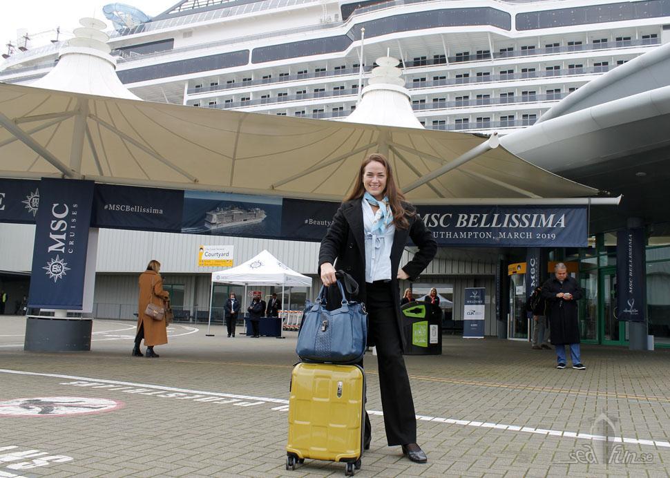 MSC Bellissima, vårens första invigning i Southampton!