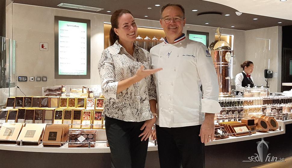 Möte med MSC Cruises chokladkonditor Jean-Philippe Maury