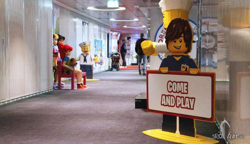 Virtual Games Arcade & barnklubbar på MSC Grandiosa