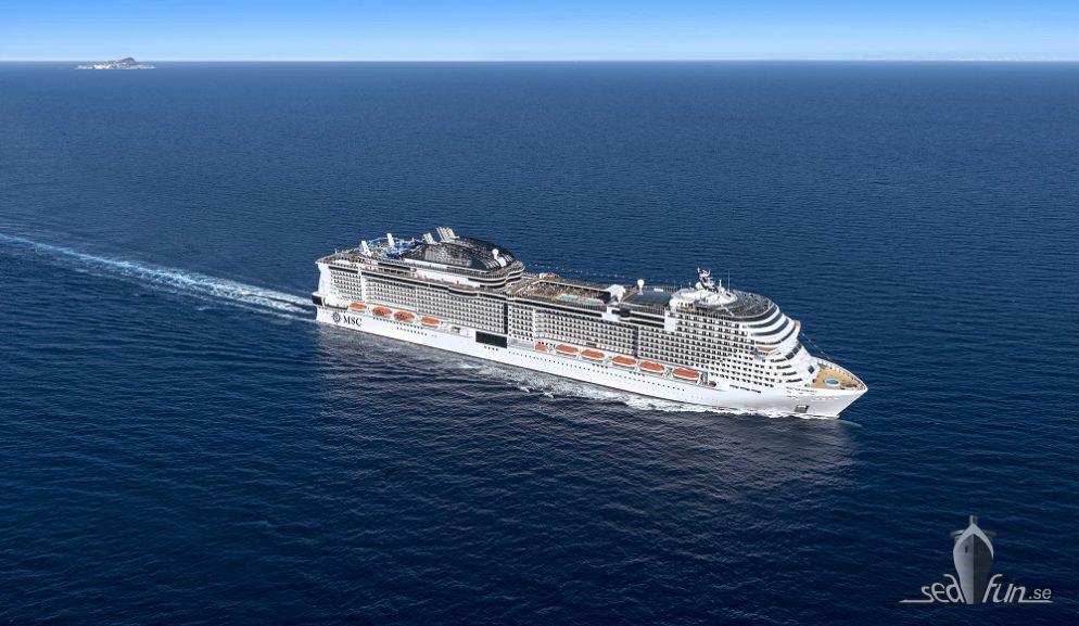 Nystart för MSC Cruises i Medelhavet med två fartyg