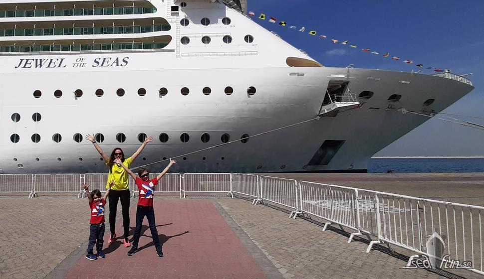 Dag 1 på Jewel of the Seas – fartygsfördelar, och ett nybörjarfel