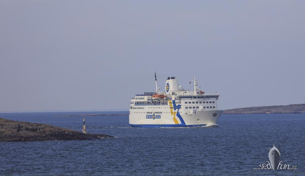 M/S Eckerö ställer in alla turer från 16 mars