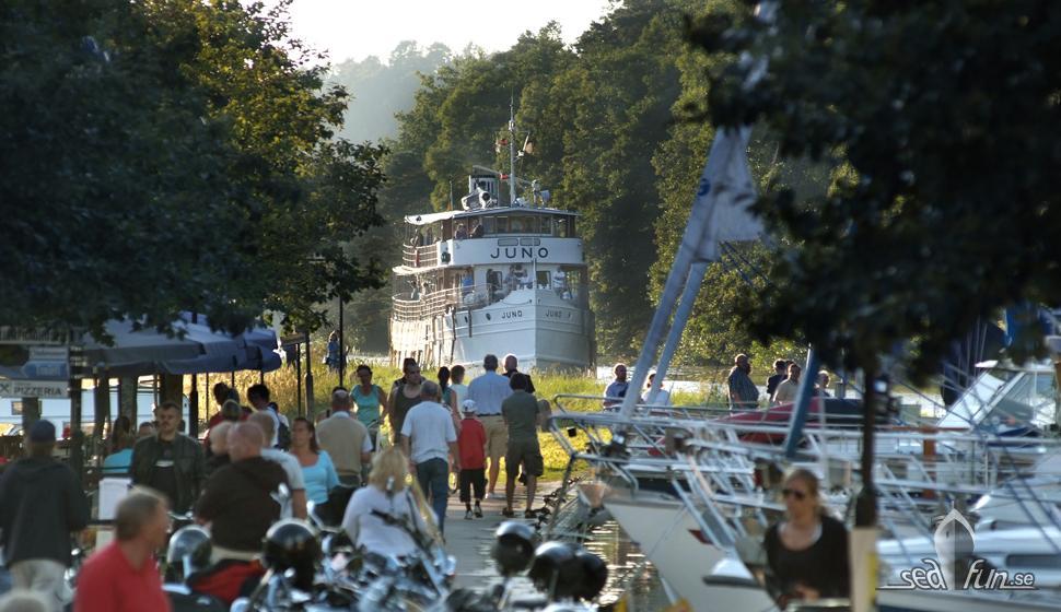 Göta Kanal ställer in kryssningar med sina klassiska kanalfartyg