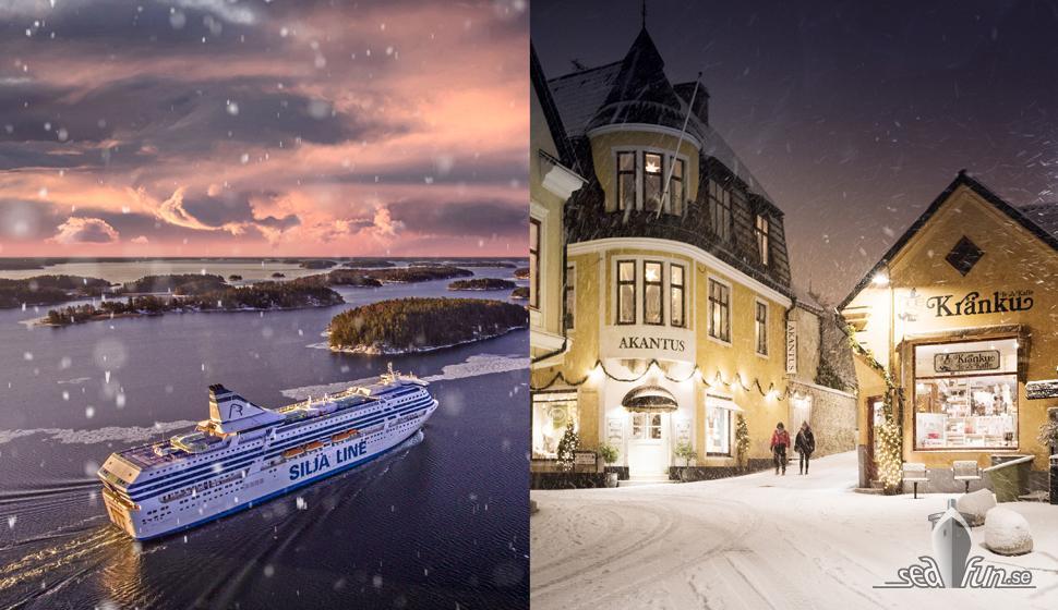 Tallink Silja lanserar adventskryssningar till Visby