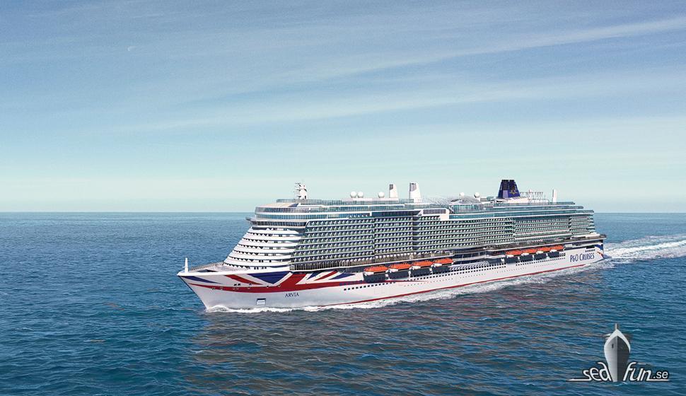 P & O Cruises har nu avslöjat namnet på Ionas systerfartyg