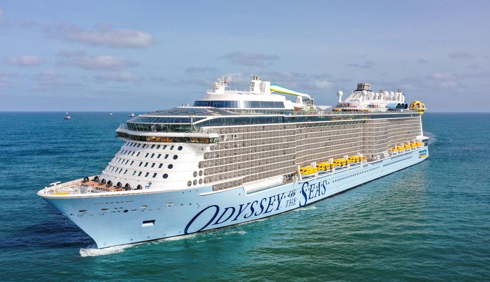 Odyssey of the Seas debuterar från Haifa