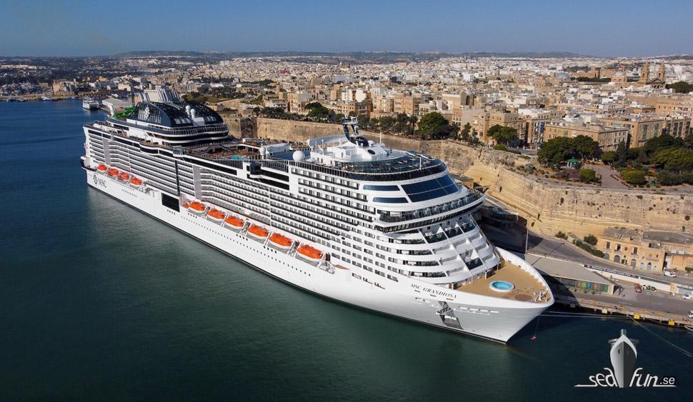 MSC Cruises nya rutter sommaren 2021