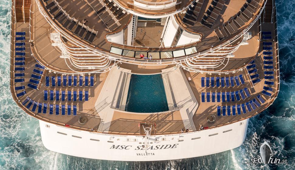 MSC Seaside gör Grandiosa sällskap i Medelhavet 2021