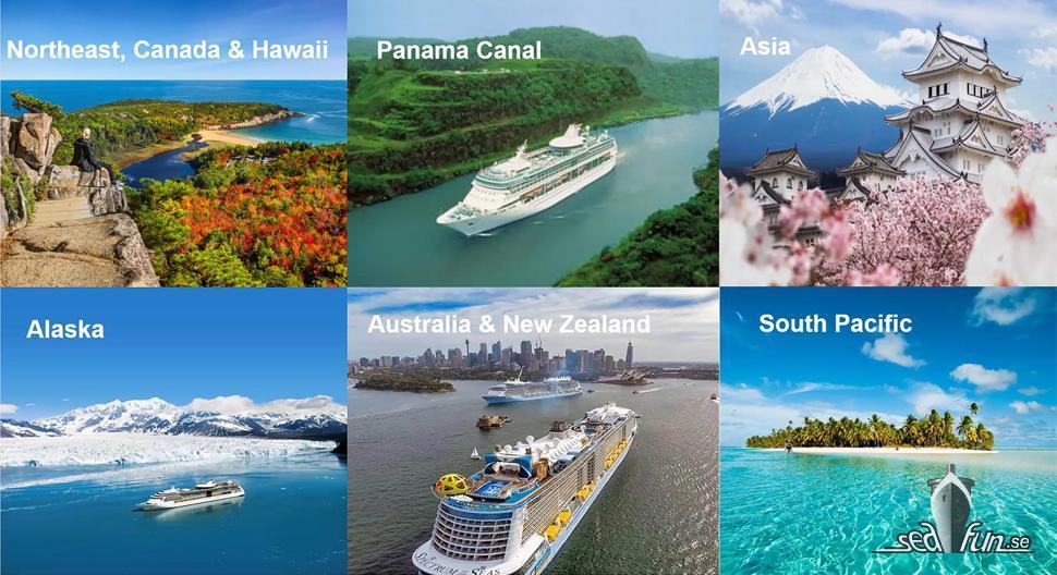 En inblick i kryssningläget 2021/2022 för Royal Caribbean