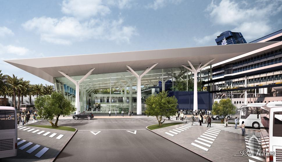 MSC Cruises bygger ny kryssningsterminal i Barcelona