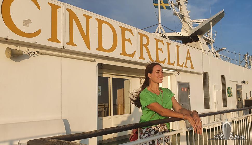 Sommarkryssning med Viking Cinderella dag 1