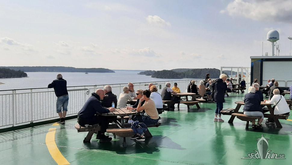 Sommarkryssning med Viking Cinderella – ankomst Stockholm