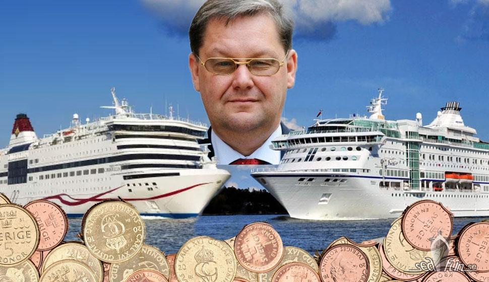 Viking Lines VD Jan Hanses svar avslöjar tankegångarna