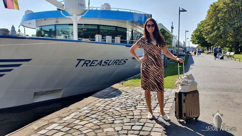 Ombordstigning Viva Cruises